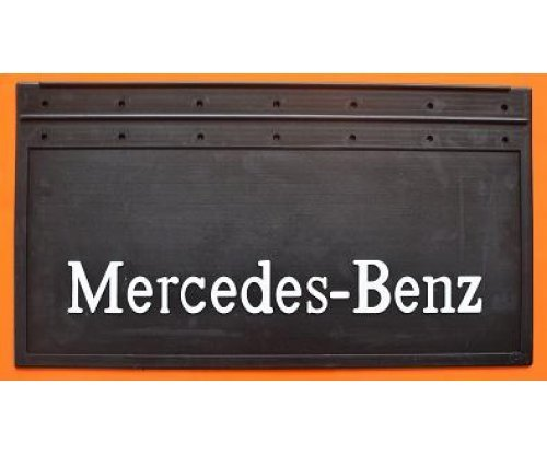 1002 Брызговик Mercedes-Benz рельефная надпись зад(650х350)