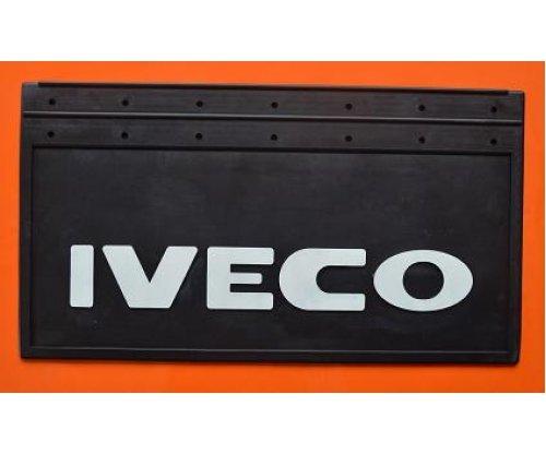 1004 Брызговик Iveco рельефная надпись зад(650х350)