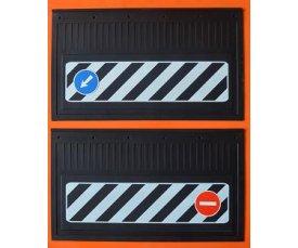 1011 Бризговик 600х370 наклейка(комплект) 0040