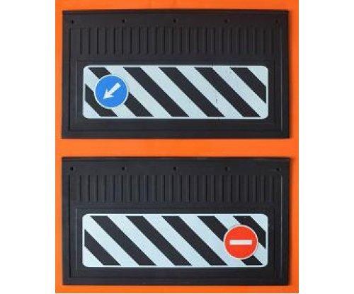 1012 Брызговик 530х330 наклейка(комплект) 0043