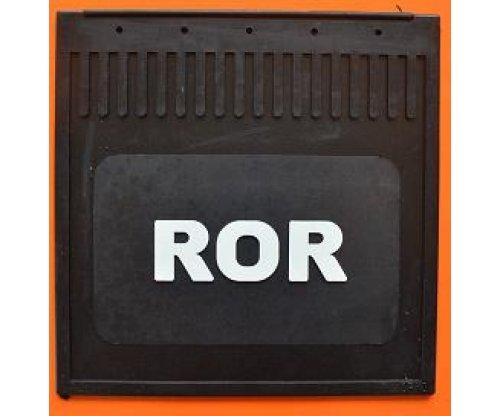 Брызговик ROR рельефная надпись(400х400)