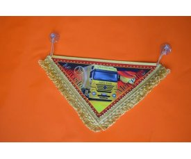 1502 Вимпел Mercedes Benz трикутний