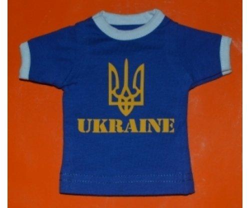 Вимпел футболка Ukraine