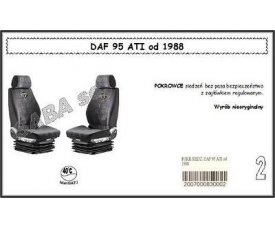1702 Чохол DAF 95ATI від 1988