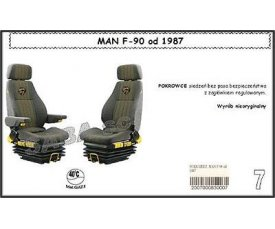 1705 Чехол MAN F-90 с 1987