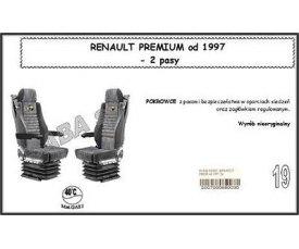 1714 Чохол RENAULT PREMIUM від 1997, 2ремені