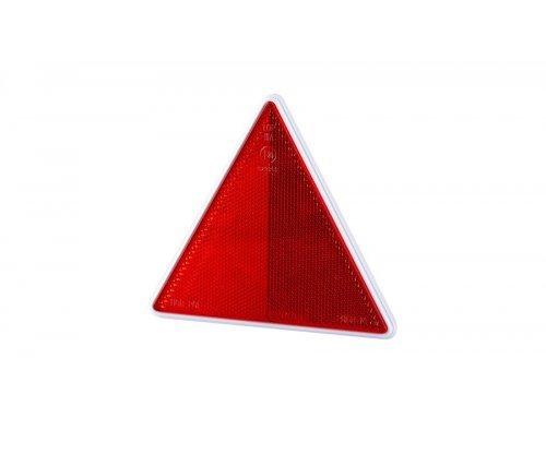 5024 UOT 024 Рефлектор-трикутник з білою рамкою на 2-х шурупах