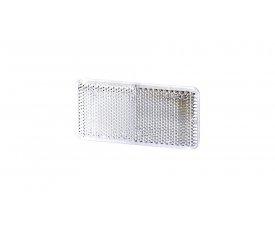 5029 UO 029 Рефлектор-відбивач прямокутний(44х94мм) з самоклеючою стрічкою білий