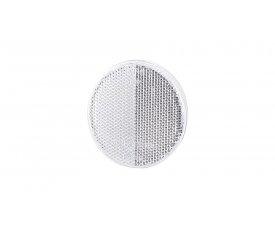 5038 UO 038 Рефлектор-відбивач круглий(O 75) з самоклеючою стрічкою білий