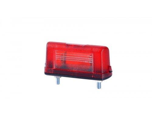 Ліхтар підсвічування заднього номера малий корпус червоний LT 108