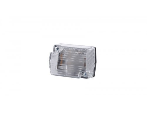 Габаритный прямоугольный малый фонарь белый LO 110
