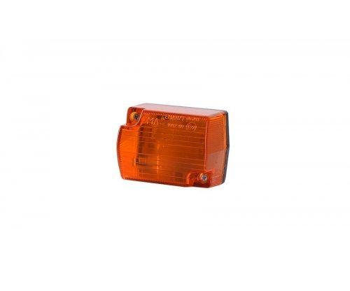 Габаритный прямоугольный малый фонарь оранжевый LO 112