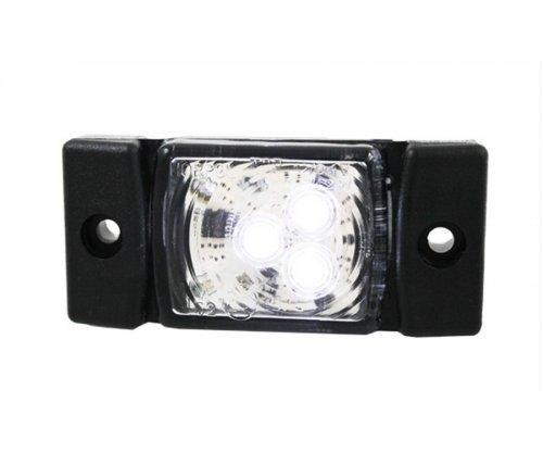 Габаритно-контурний ліхтар HOR 40 LED білий LD 140