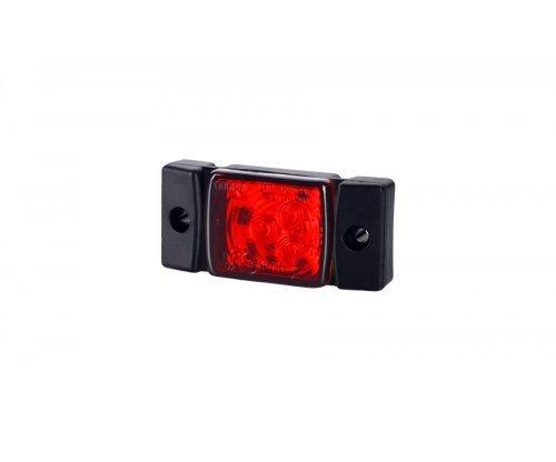 Габаритно-контурний ліхтар HOR 40 LED червоний LD 142