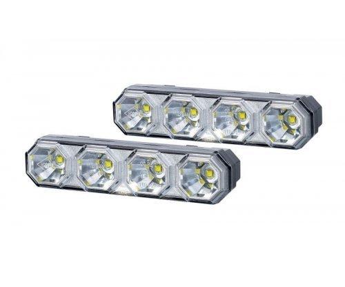 Денні ходові вогні HOR 78 4 LED комплект LDR 2106