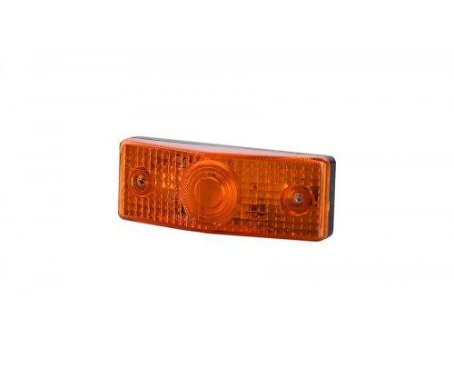 Габаритный плоский фонарь оранжевый LO 215
