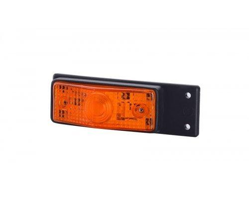 Габаритный плоский фонарь висячий оранжевый LOW 216