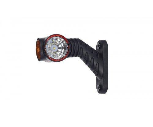 Виносний габаритно-контурний ліхтар LED ріжок під кутом короткий правий LD 2180