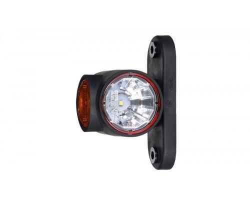 Габаритно-контурный фонарь LED рожок прямой короткий LD 2186