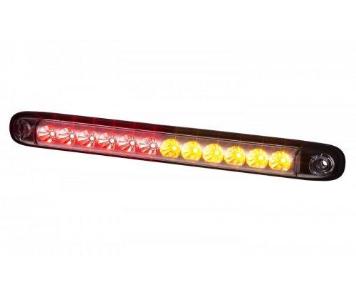 Задній комбінований ліхтар HOR 86 12 LED стоп запалення поворот червоний/оранжевий LZD 2246
