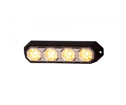 Ліхтар сигнальний HOR 78 4 LED оранжевий LDO 2258