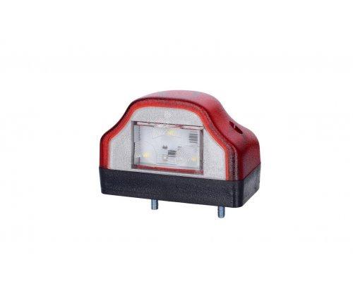 Ліхтар освітлення заднього номера LED корпус червоний LTD 232