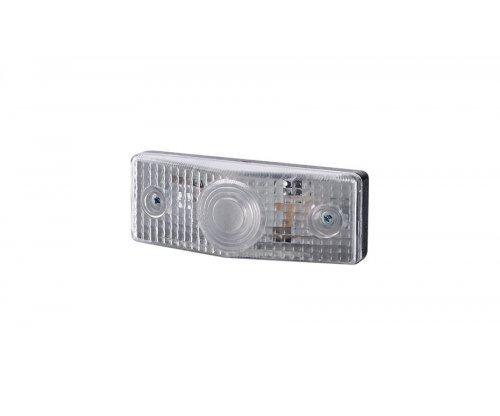 Габаритный плоский фонарь белый LO 251