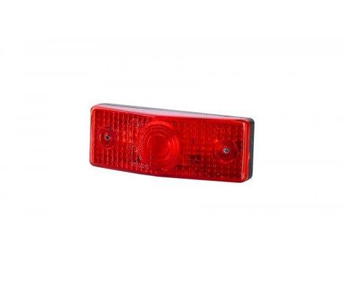Габаритный плоский фонарь красный LO 252