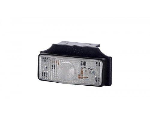 Габаритний плоский ліхтар з підвіскою білий LOP 256