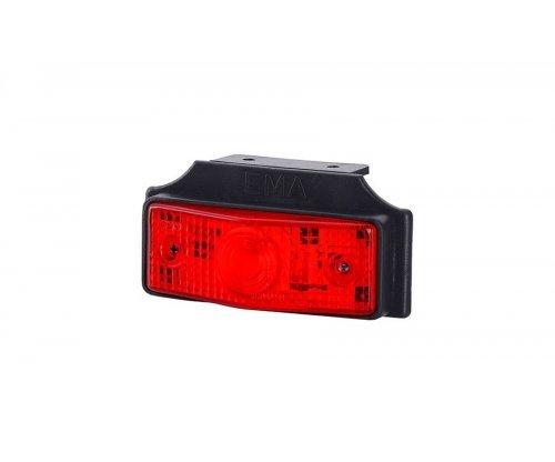 Габаритний плоский ліхтар з підвіскою червоний LOP 258