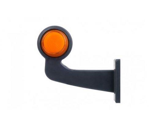 52607 LKD 2607 Ліхтар сигналу повороту HOR102B LED довгий ріжок оранжевий