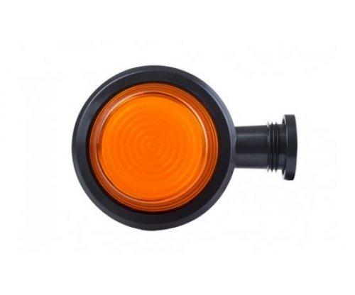 52608 LKD 2608 Ліхтар сигналу повороту HOR102B LED короткий ріжок оранжевий