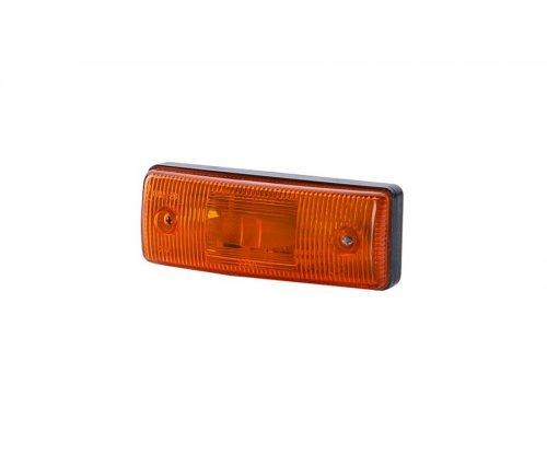 Габаритный плоский фонарь II оранжевый LO 301