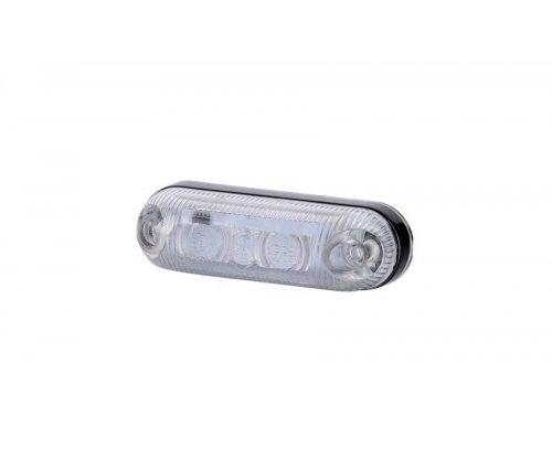 Габаритно-контурний овальний ліхтар LED білий LD 370
