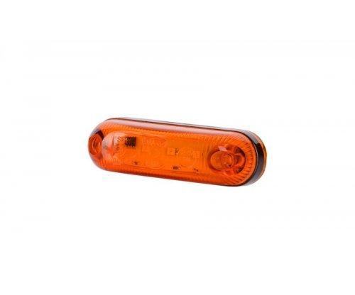 Габаритно-контурний овальний ліхтар LED оранжевий LD 390