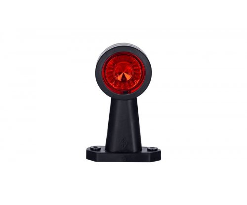 Выносной габаритно-контурный фонарь HOR 69 LED длинный прямой рожок белый/красный LD 722