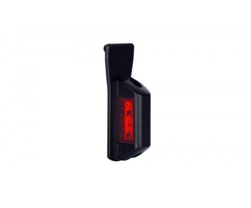 Габаритний ліхтар LED квадратний з кронштейном правий білий/червоний LD 731/P