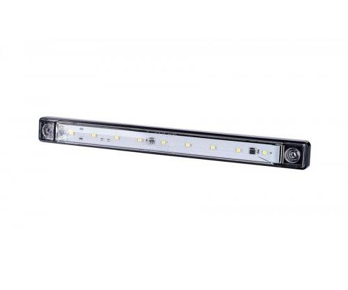 Длинный габаритный фонарь HOR 71 LED белый LD 997