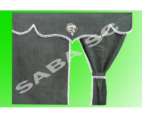 Шторка MAN TGA XXL/XL зеленая(комплект)