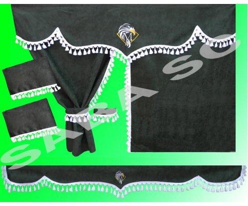 Шторка MERCEDES ACTROS зелена(комплект)